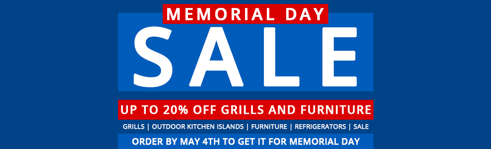 Memorial Day Outdoor Sale Appliances Connection