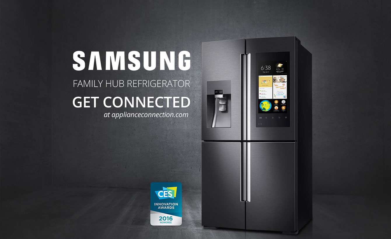 Welcome To Family Hub New Hot Release From Samsung